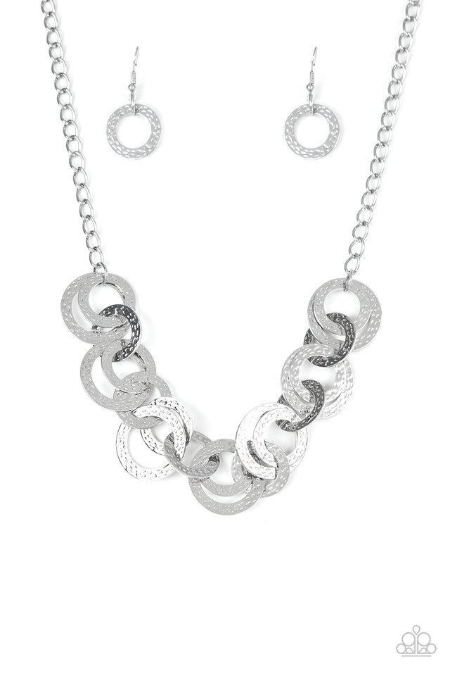 Treasure Tease - Silver - Paparazzi Necklace Image