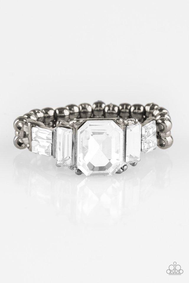Born To Rule - Black - Paparazzi Ring Image