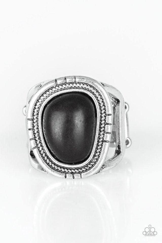 Out On The Range - Black - Paparazzi Ring Image