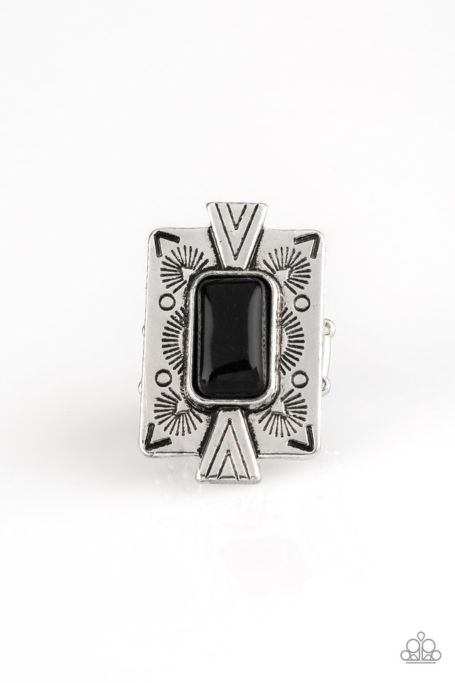 So Smithsonian - Black - Paparazzi Ring Image