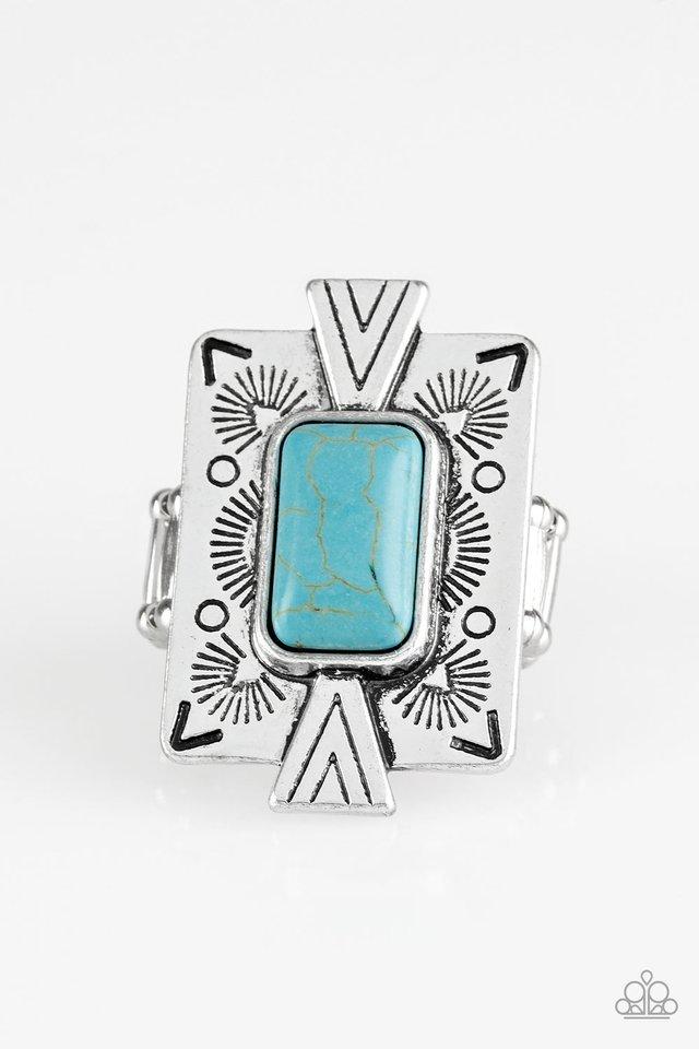 So Smithsonian - Blue - Paparazzi Ring Image