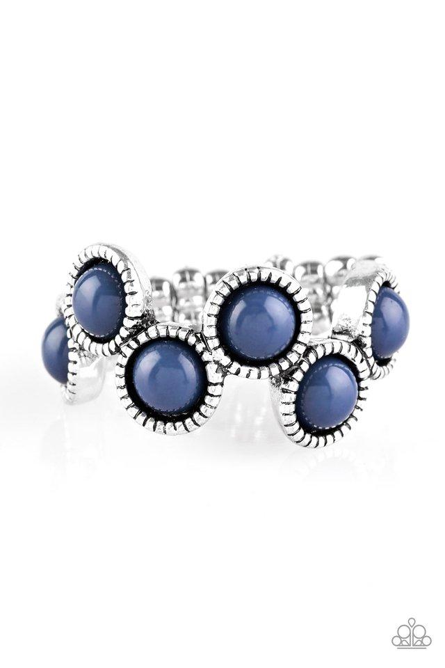 Foxy Fabulous - Blue - Paparazzi Ring Image