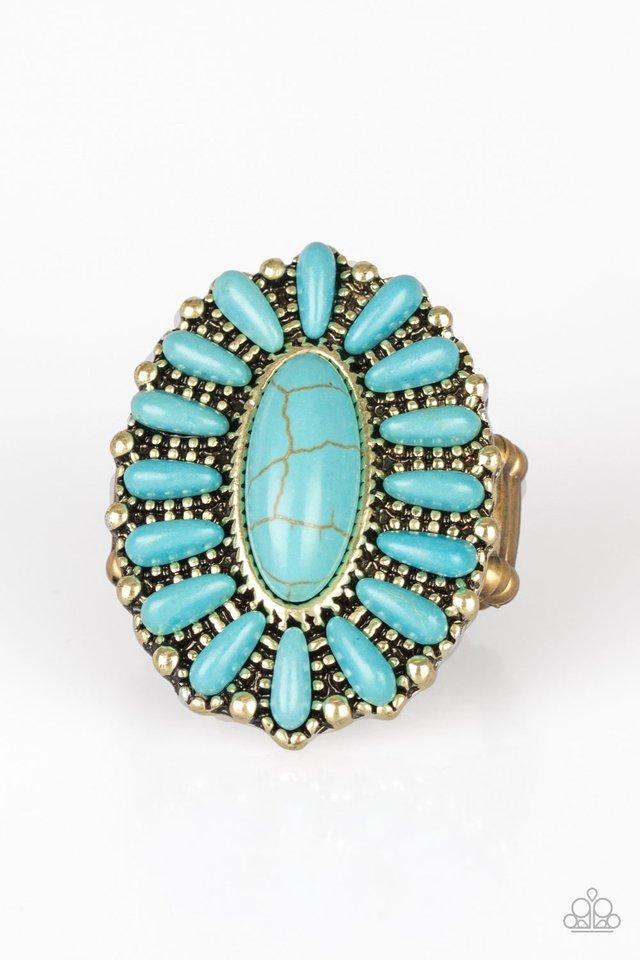 Cactus Cabana - Brass - Paparazzi Ring Image