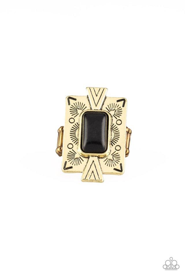 So Smithsonian - Brass - Paparazzi Ring Image