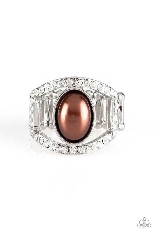 Radiating Riches - Brown - Paparazzi Ring Image
