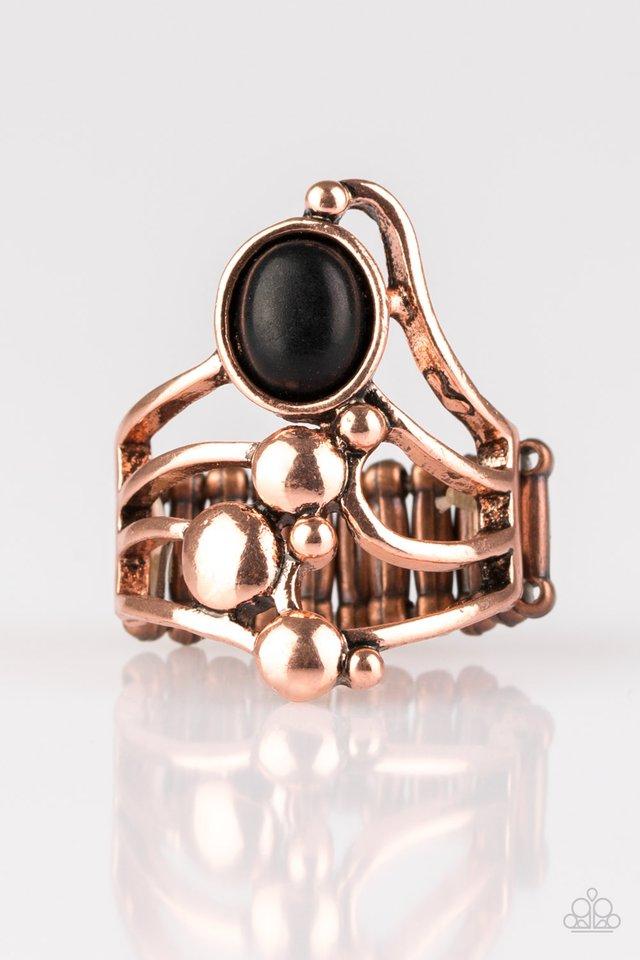 Wanderlust Wanderer - Copper - Paparazzi Ring Image