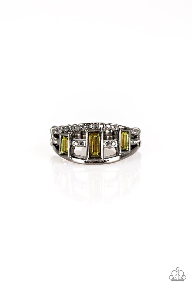 Noble Nova - Green - Paparazzi Ring Image