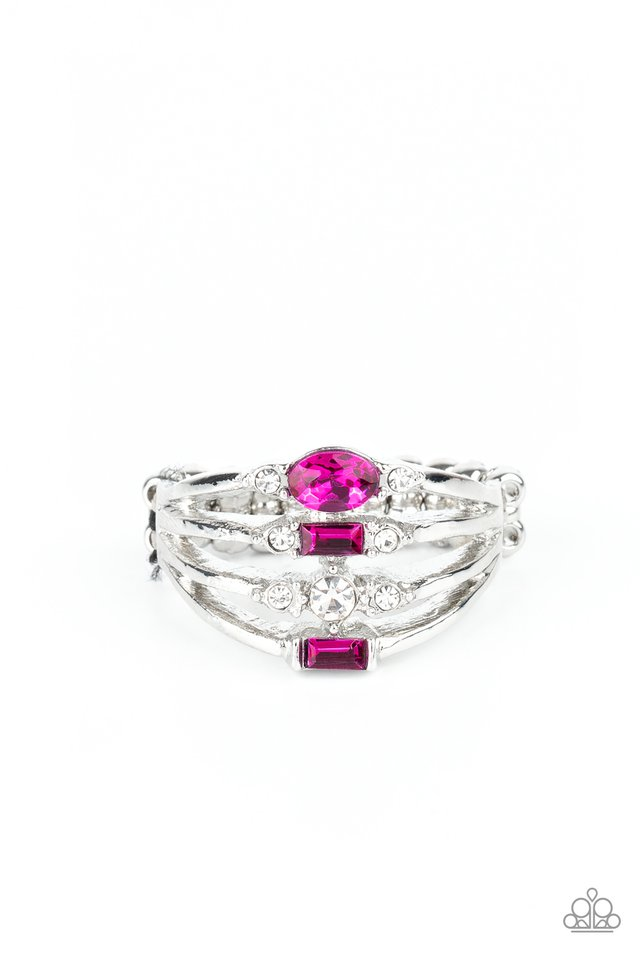 Not So Novice - Pink - Paparazzi Ring Image