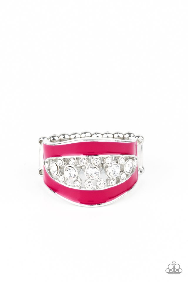 Trending Treasure - Pink - Paparazzi Ring Image