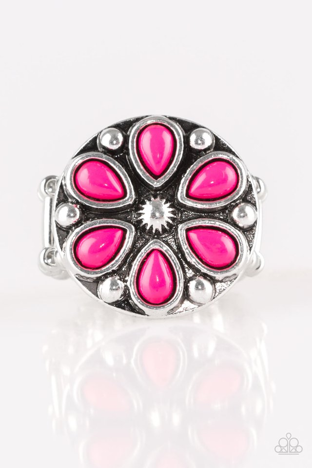 Color Me Calla Lily - Pink - Paparazzi Ring Image
