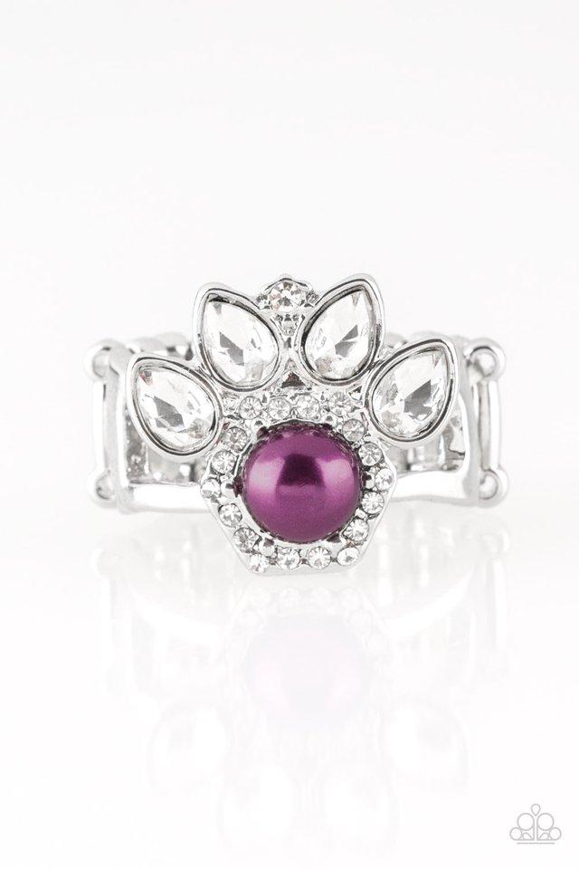 Crown Coronation - Purple - Paparazzi Ring Image