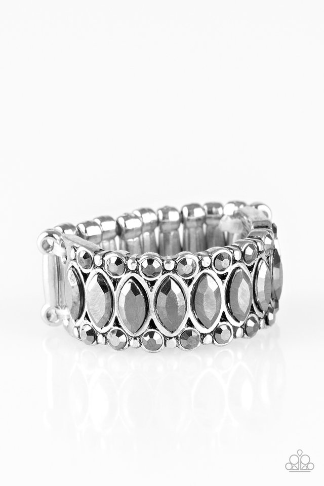 Radical Riches - Silver - Paparazzi Ring Image