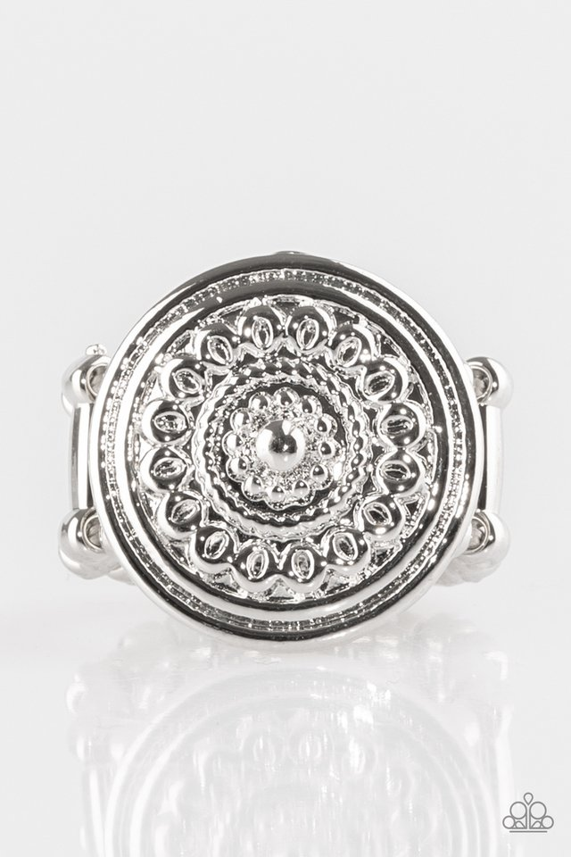 Seasonal Shine - Silver - Paparazzi Ring Image