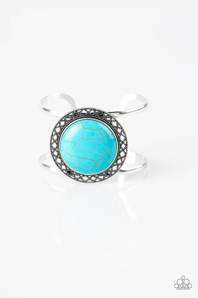 RODEO Rage - Blue - Paparazzi Bracelet Image