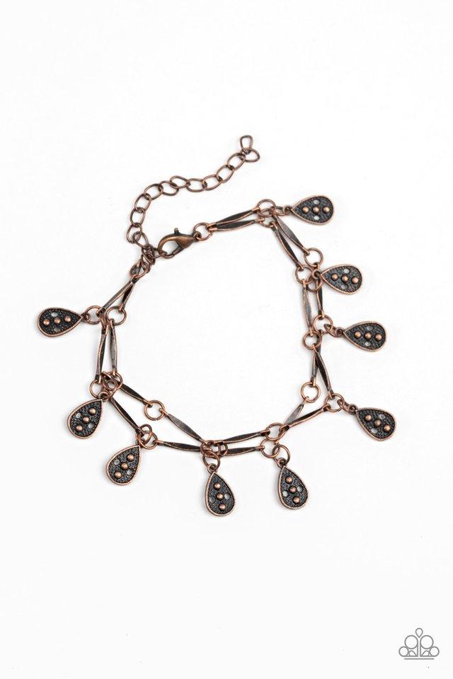 Gypsy Glee - Copper - Paparazzi Bracelet Image