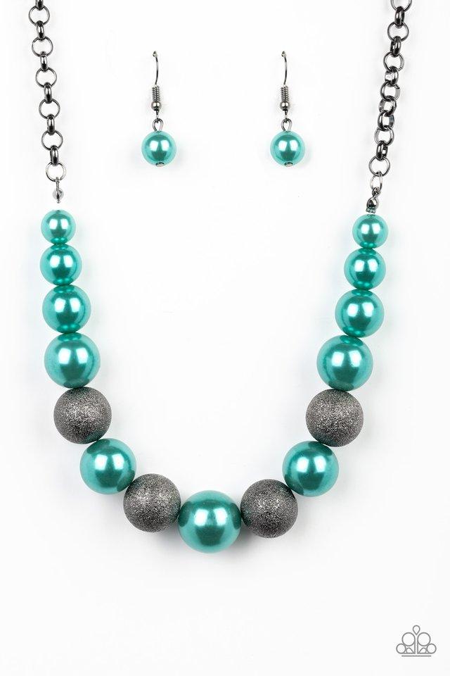 Color Me CEO - Green - Paparazzi Necklace Image
