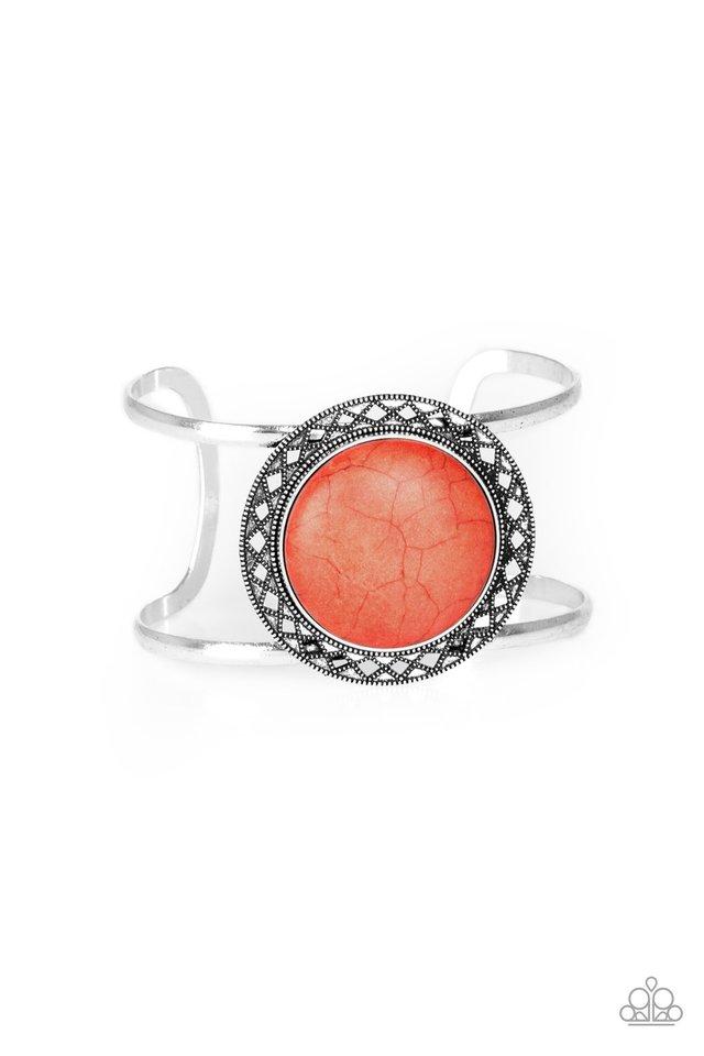 RODEO Rage - Orange - Paparazzi Bracelet Image