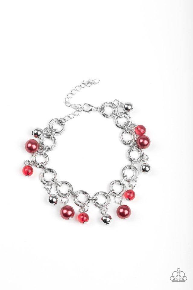 Fancy Fascination - Red - Paparazzi Bracelet Image