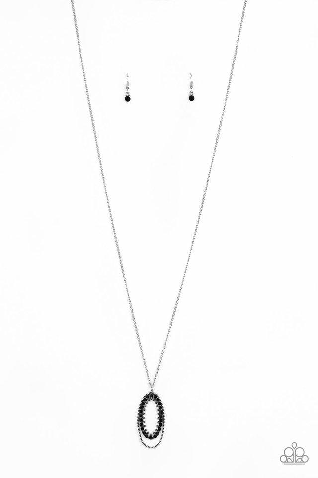 Money Mood - Black - Paparazzi Necklace Image