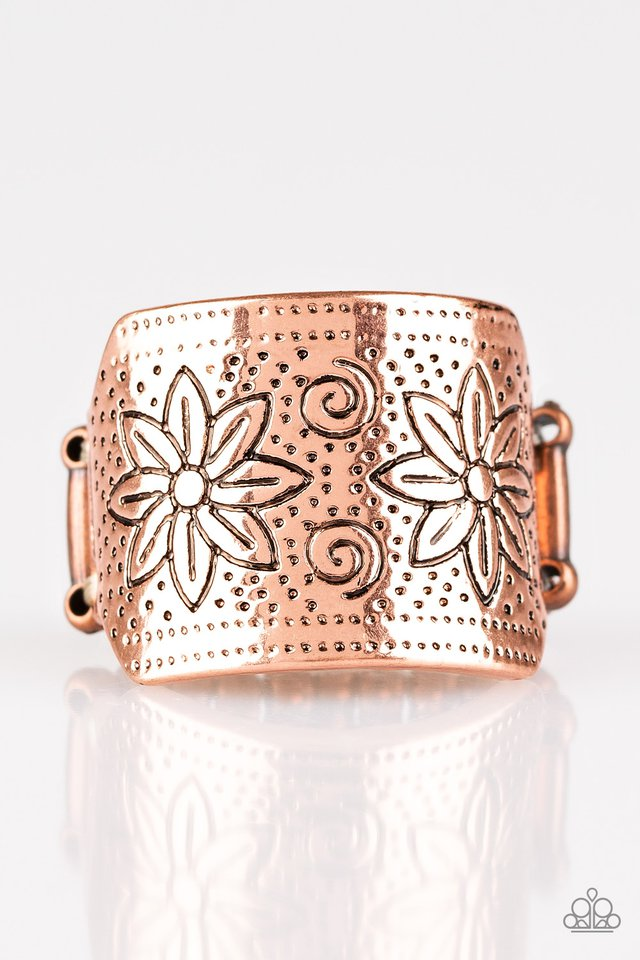 Wild Meadows - Copper - Paparazzi Ring Image