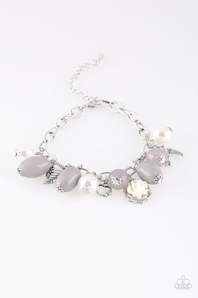 Love Doves - Silver - Paparazzi Bracelet Image