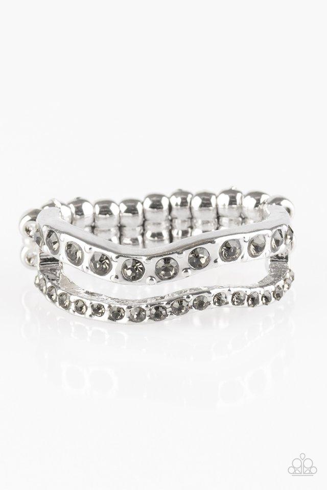 Elite Squad - Silver - Paparazzi Ring Image