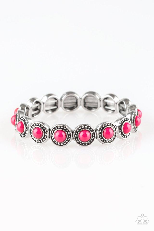 Globetrotter Goals - Pink - Paparazzi Bracelet Image