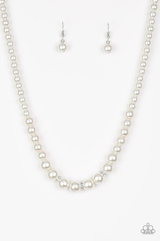 Royal Romance - White - Paparazzi Necklace Image