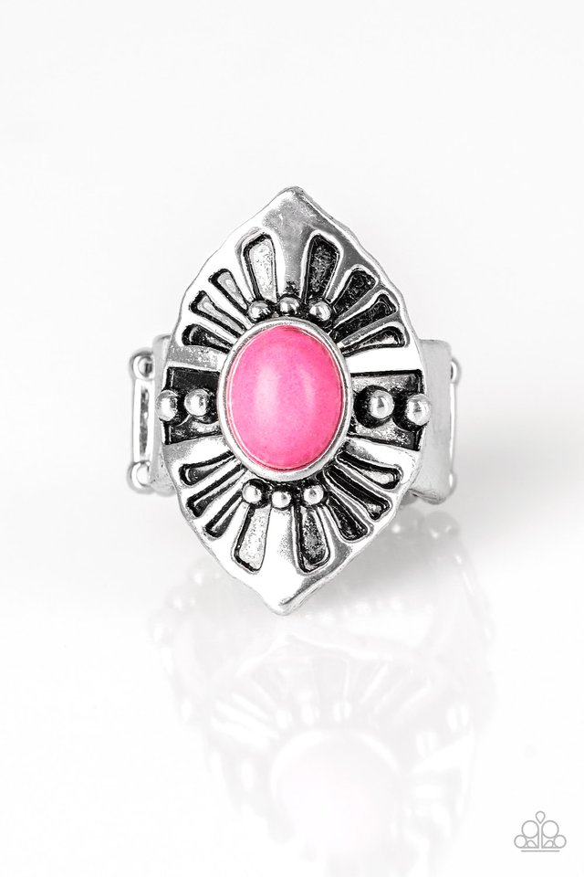 HOMESTEAD For The Weekend - Pink - Paparazzi Ring Image