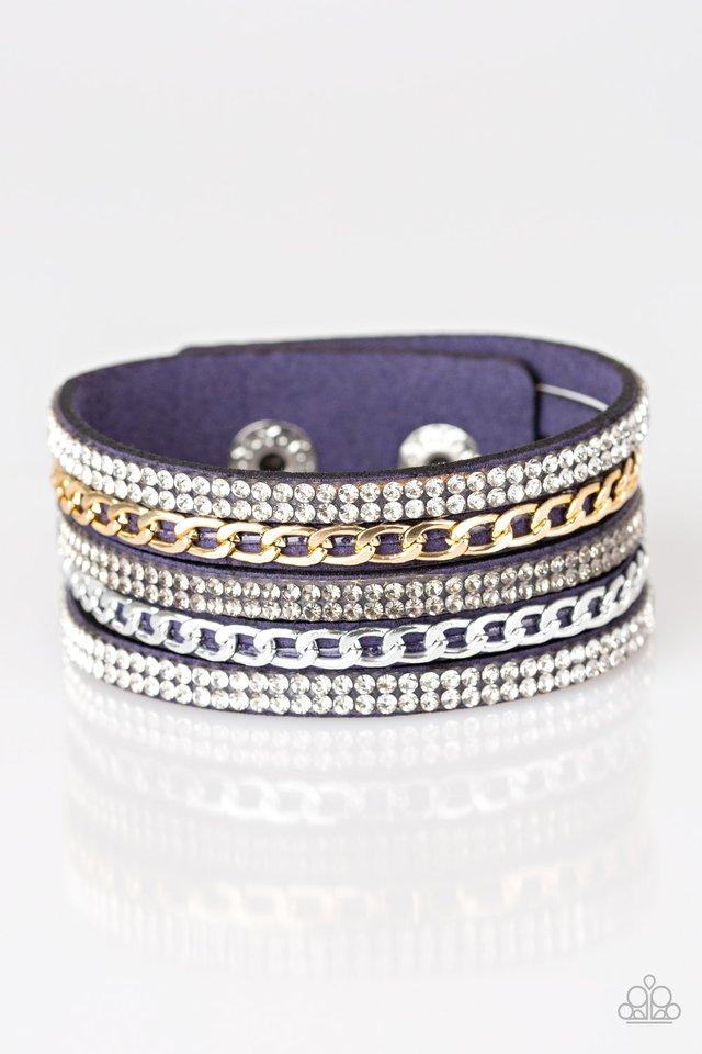 Fashion Fiend - Blue - Paparazzi Bracelet Image