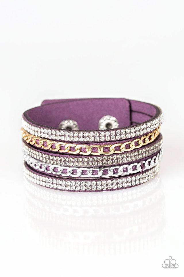 Fashion Fiend - Purple - Paparazzi Bracelet Image