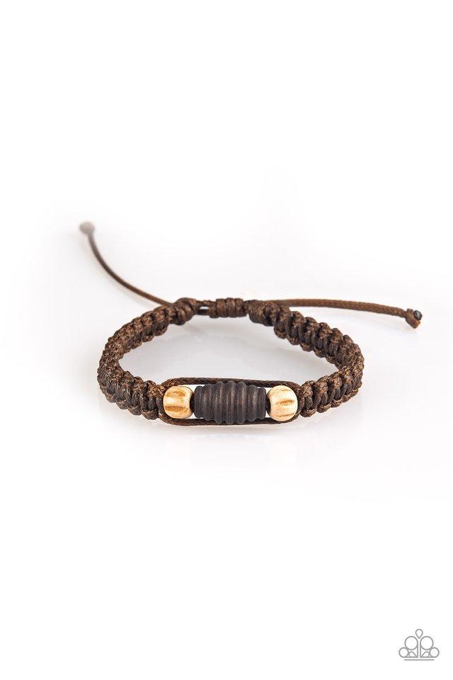 Tiki Traveler - Brown - Paparazzi Bracelet Image
