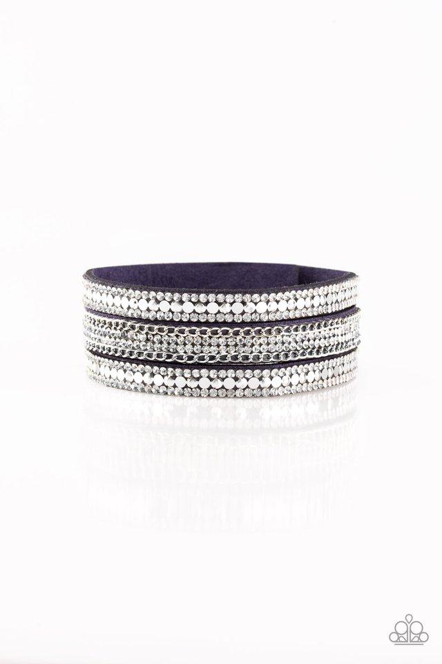 Fashion Fanatic - Blue - Paparazzi Bracelet Image