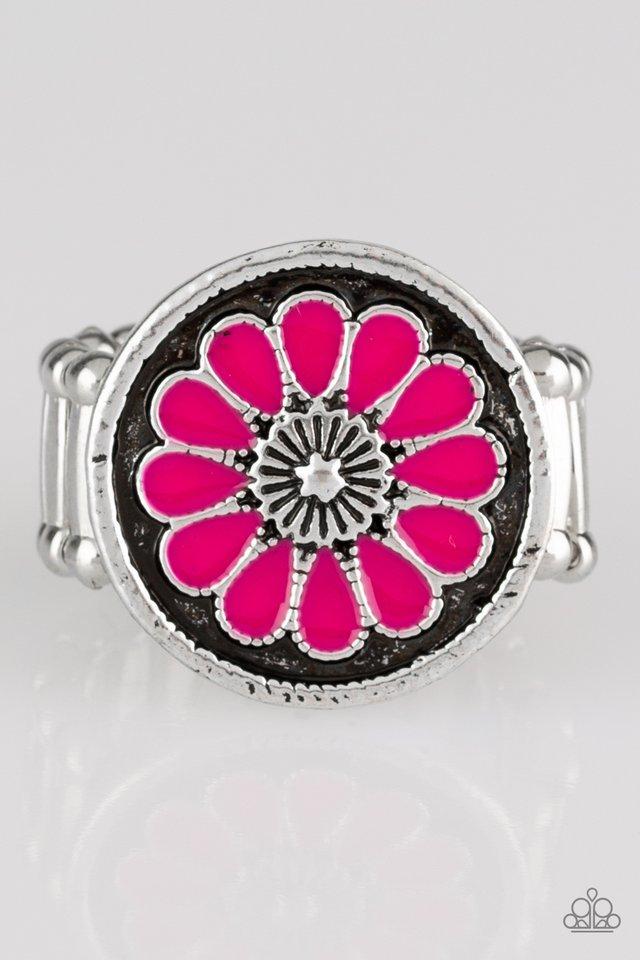 Garden View - Pink - Paparazzi Ring Image