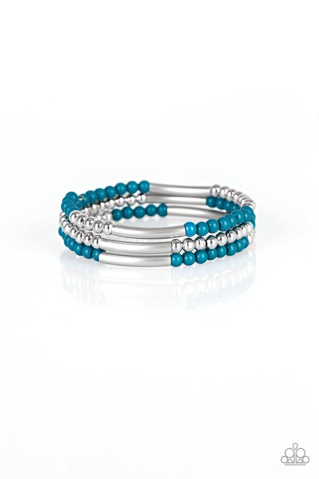Tourist Trap - Blue - Paparazzi Bracelet Image