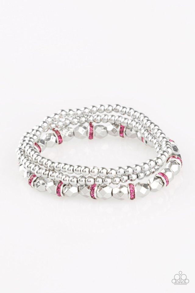 Let There BEAM Light - Pink - Paparazzi Bracelet Image