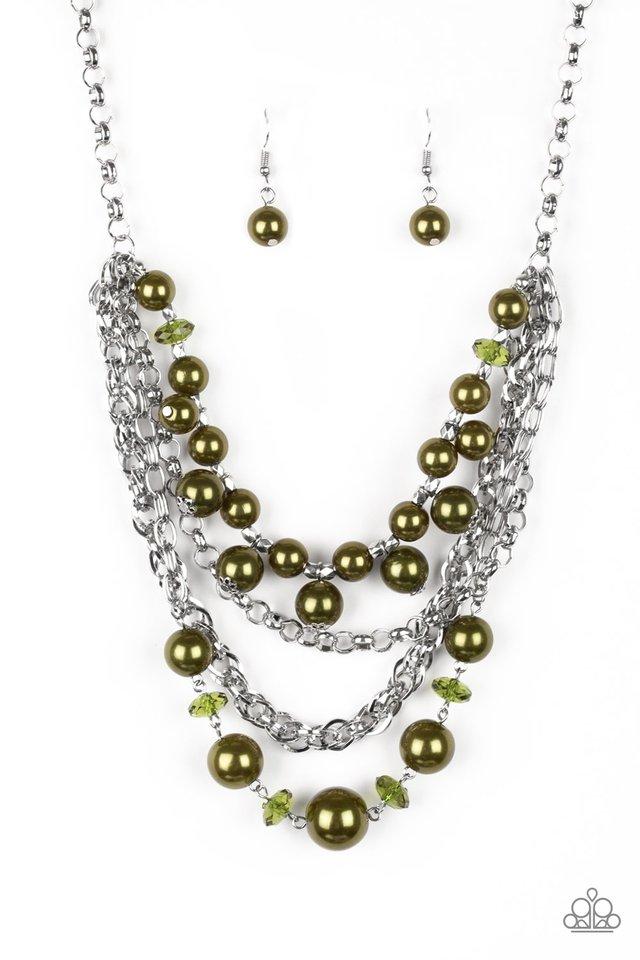 Rockin Rockette - Green - Paparazzi Necklace Image