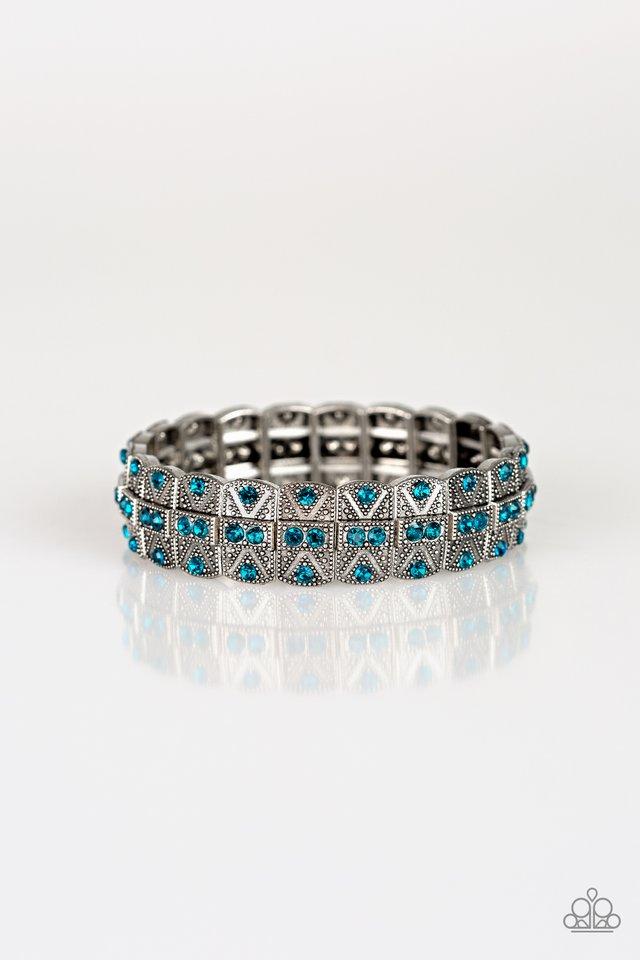 Modern Magnificence - Blue - Paparazzi Bracelet Image