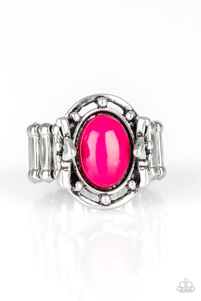Color Me Confident - Pink - Paparazzi Ring Image