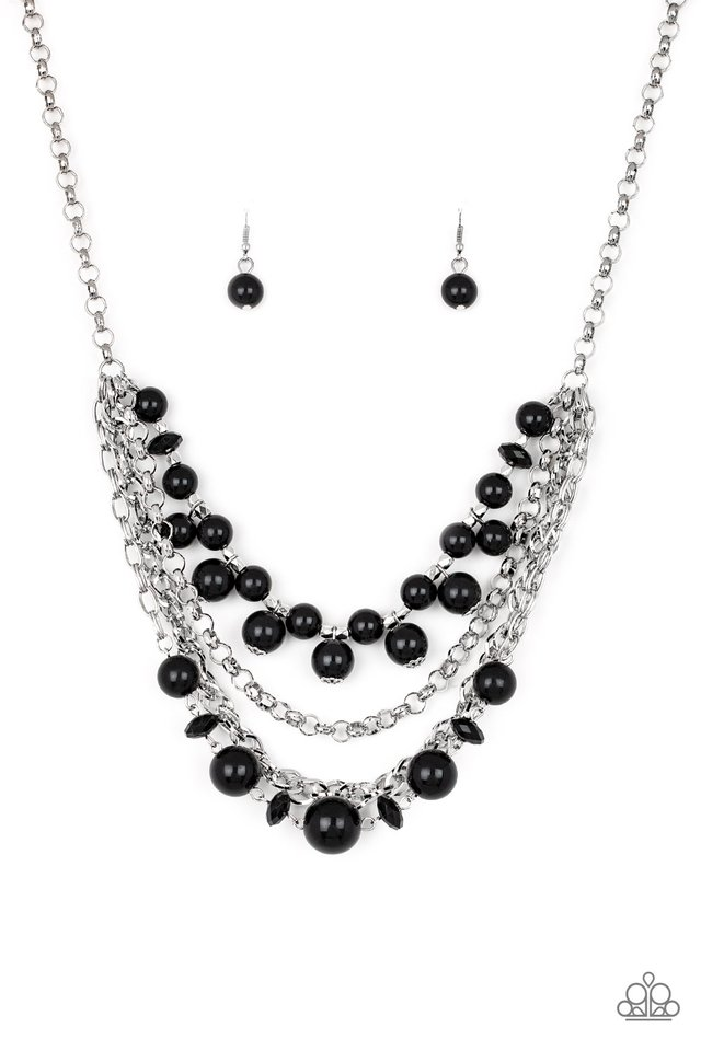 Rockin Rockette - Black - Paparazzi Necklace Image