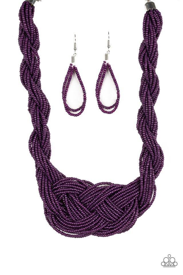 A Standing Ovation - Purple - Paparazzi Necklace Image