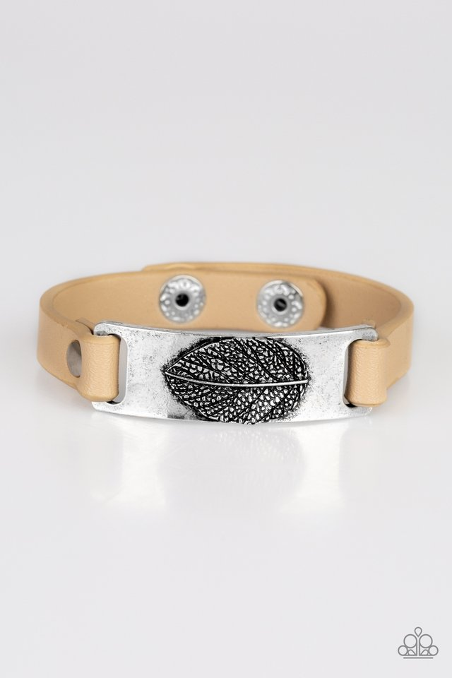Take The LEAF - Brown - Paparazzi Bracelet Image