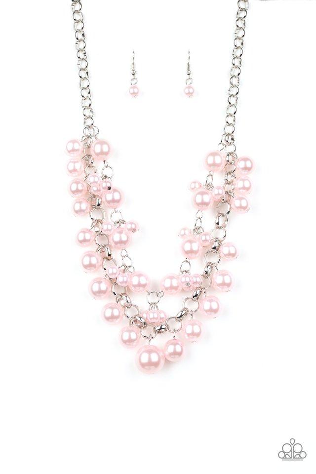 BALLROOM Service - Pink - Paparazzi Necklace Image