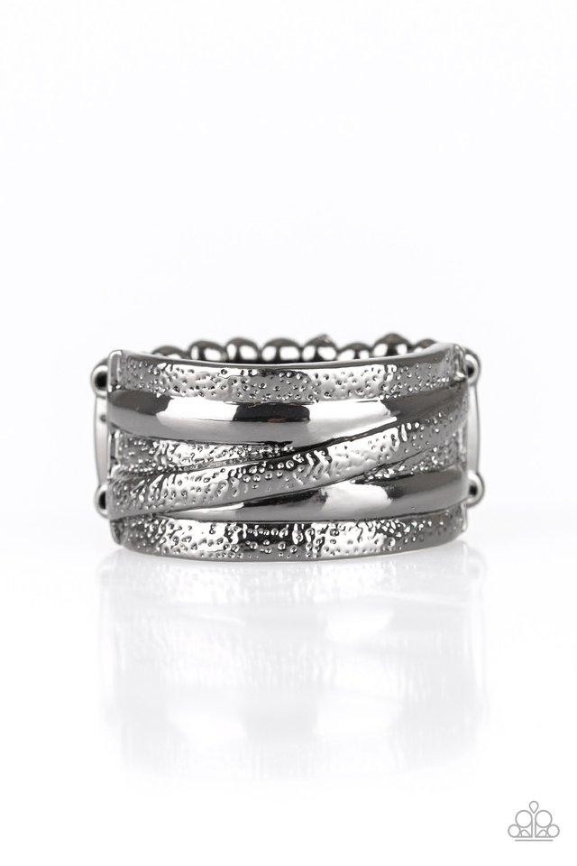 Rise and Shine - Black - Paparazzi Ring Image