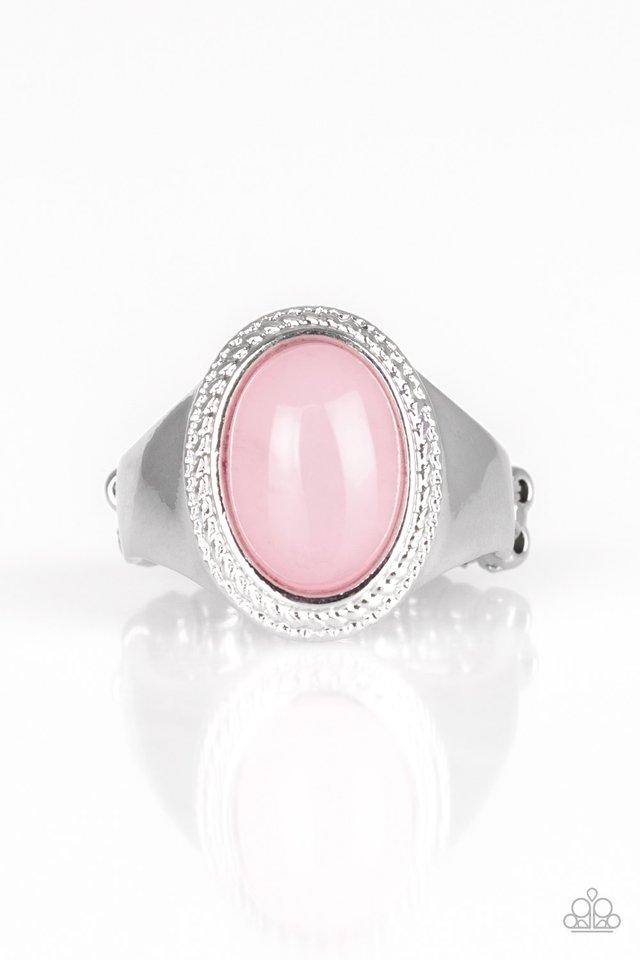 Mystically Malibu - Pink - Paparazzi Ring Image