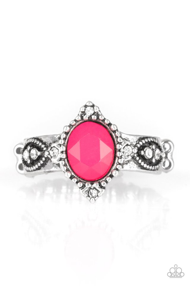 Pricelessly Princess - Pink - Paparazzi Ring Image