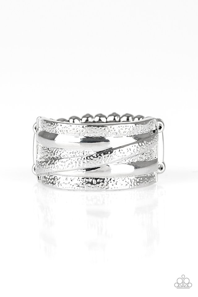 Rise and Shine - Silver - Paparazzi Ring Image
