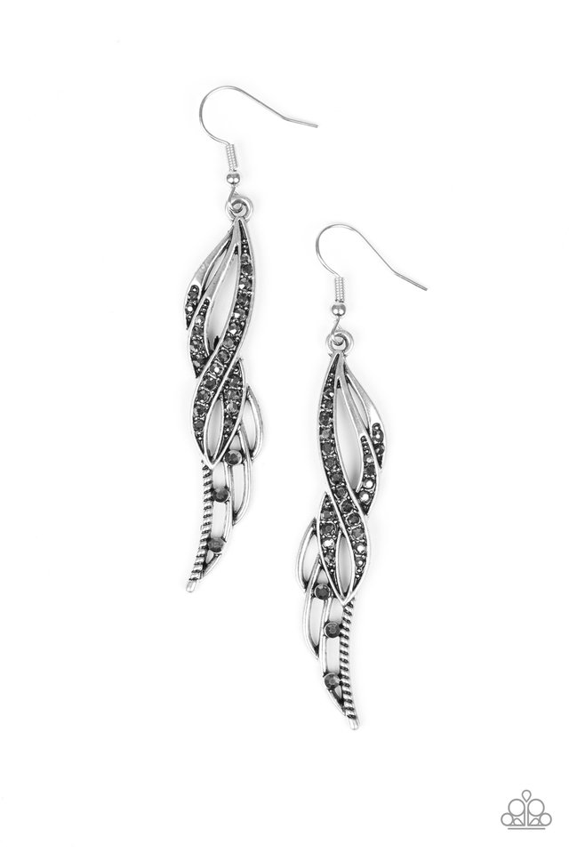 Paparazzi Accessories Let Down Your Wings Silver