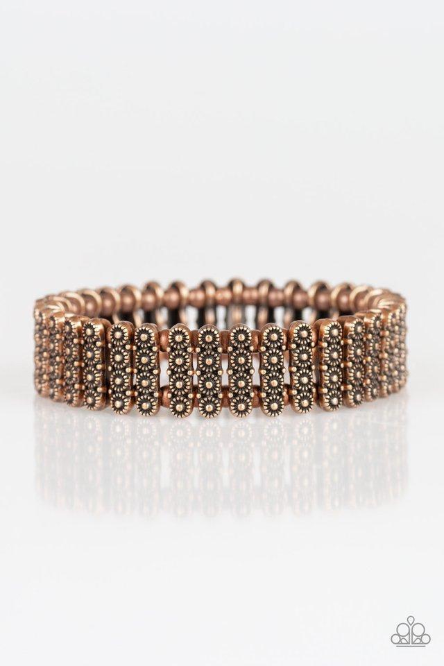 Rise With The Sun - Copper - Paparazzi Bracelet Image