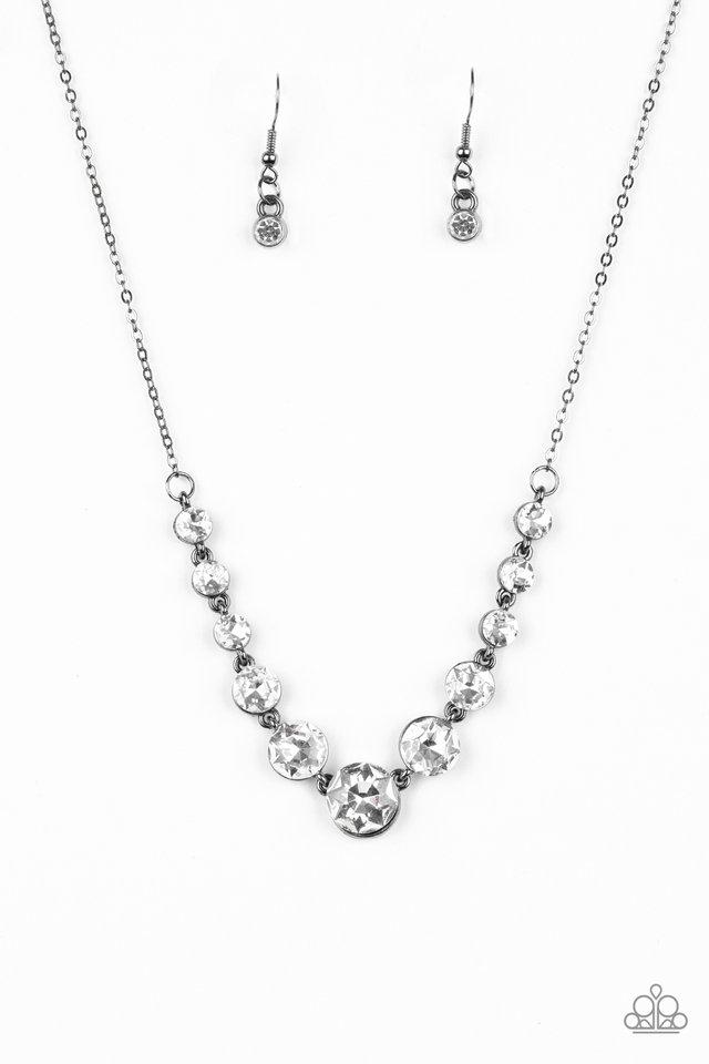 Leading Socialite - Black - Paparazzi Necklace Image
